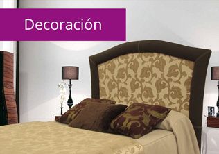 Sofas y decoración